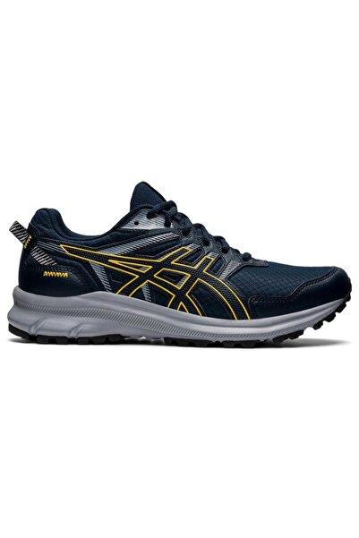 Asics Erkek Lacivert Sarı Koşu Ayakkabısı
