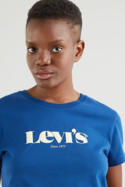 Levi's Kadın T-Shirt Mavi