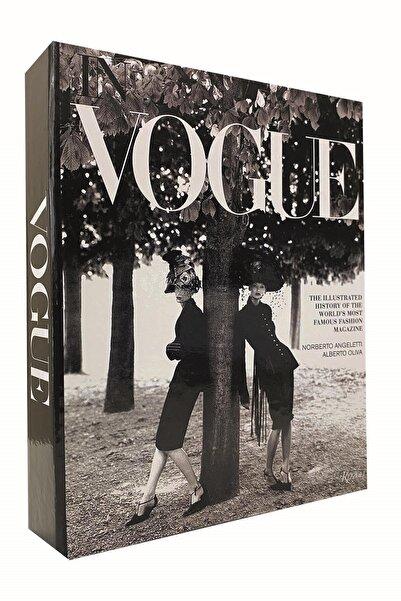 Happy Peyzaj Vogue Kadınlar Dekoratif Kitap Kutu Aksesuar