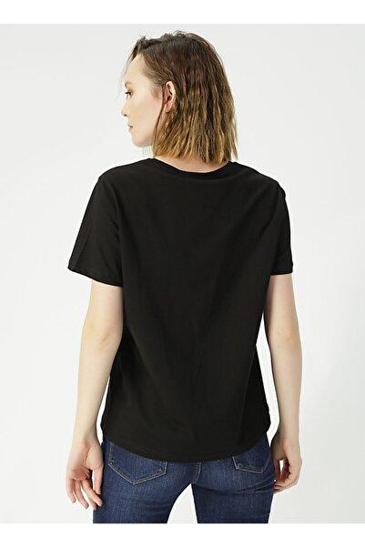 LİMON COMPANY Limon Kısa Kollu Düz Kadın T-shirt