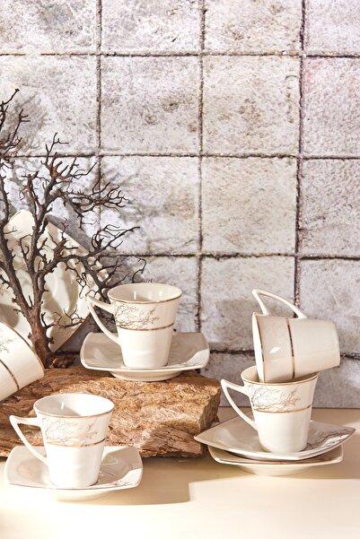 Karaca Autumn 6 Kişilik Kahve Fincan Takımı