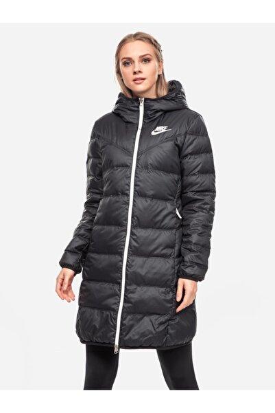 Nike Çift Taraflı Kaz Tüyü Siyah Parka