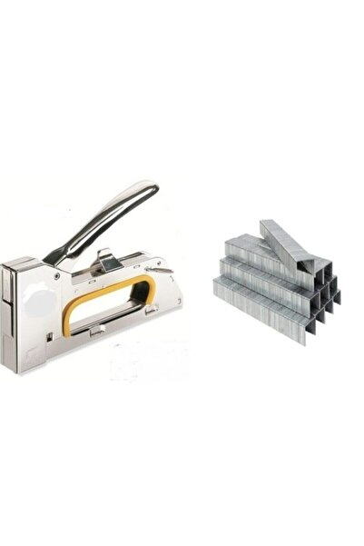 bieney Makroyapı Profesyonel 8 mm Mekanik Zımba Tabancası Ve 5000 Adet Tel