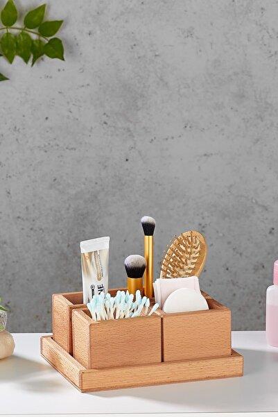 woodsy Banyo Düzenleyici Organizer Takı Kozmetik Standı