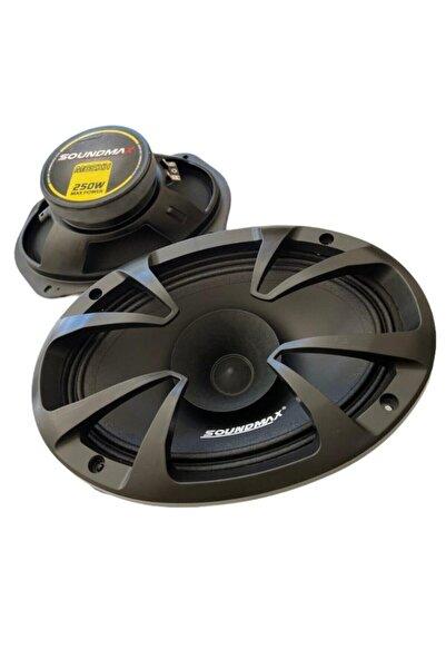 Soundmax Sx-m69xh 6x9 Oval Midrange Hoparlör 250 Watt Maximum Power