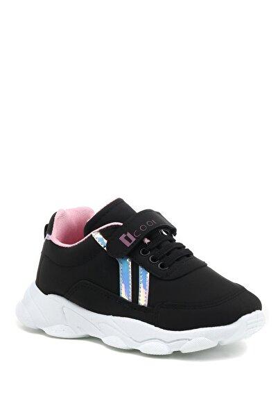 I COOL Lancıa 1pr Siyah Kız Çocuk Yürüyüş Ayakkabısı