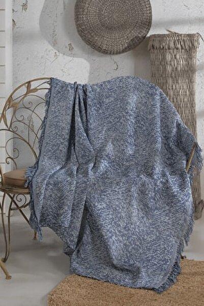 Lacivert Koltuk Örtüsü 180x210 cm
