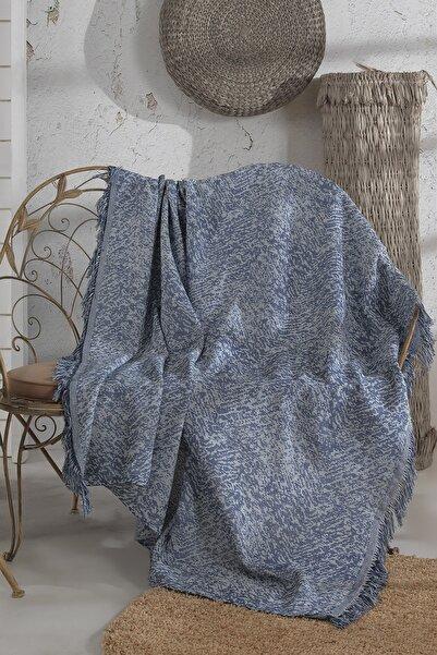 LADYNİL Lacivert Koltuk Örtüsü 180x210 cm