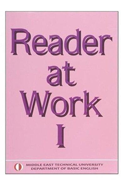 ODTÜ YAYINLARI Reader At Work 1