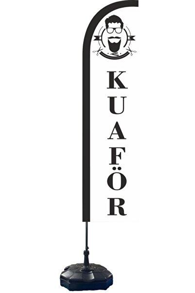 Raşel kumaş Kuaför Yazılı Yelken Bayrak 70x300 Cm