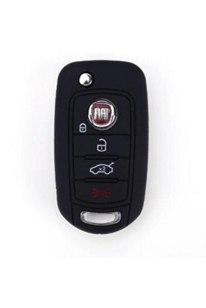 Fiat Egea Silikon Anahtar Koruma Kılıfı Siyah Renk 1 Adet