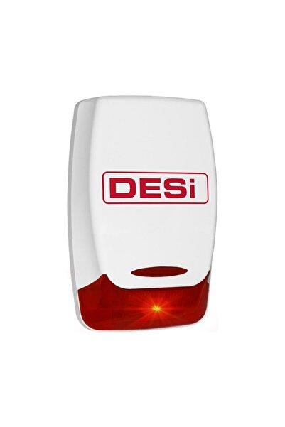Desi Alarm Hırsız Alarm Sistemi Sahte Siren Desi Dummy Kamera