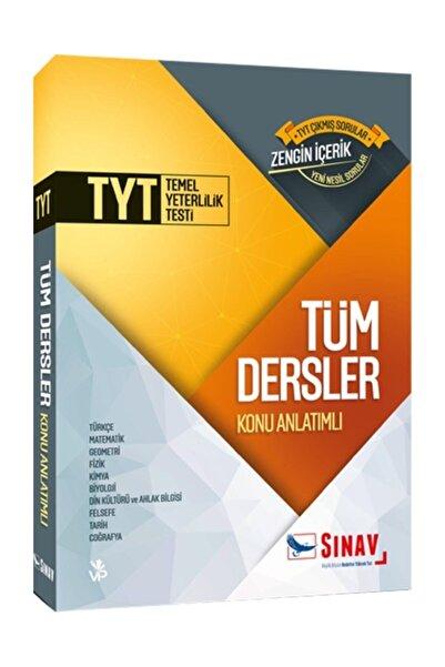 Sınav Yayınları Tyt Tüm Dersler Konu Anlatımlı Tek Kitap   24 Adımda Komisyon   S