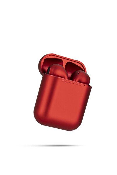 TrkTech Airpods 2. Nesil I12 Koyu Kırmızı Bluetooth Kulaklık Tüm Telefonlar Ile Uyumlu