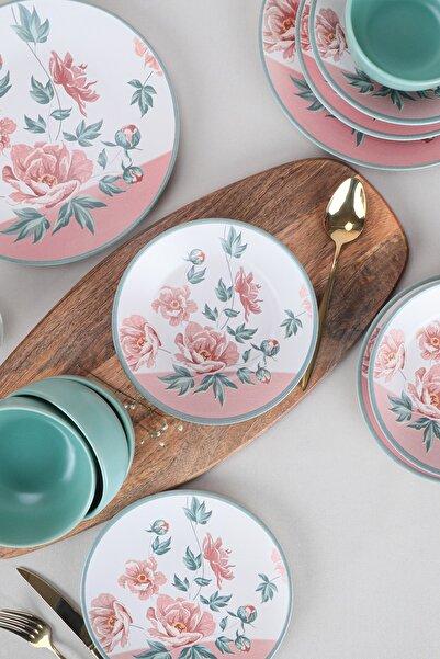 Keramika 24 Parça 6 Kişilik Ege Yemek Takımı 19279