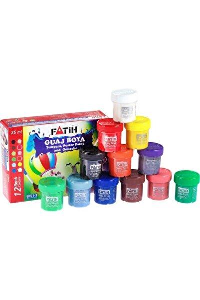 Fatih 12 Renk 25gr Guaj Boya 504020