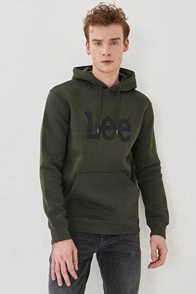 Lee Regular Fit Normal Kesim %100 Pamuk Kapüşonlu Sweatshirt