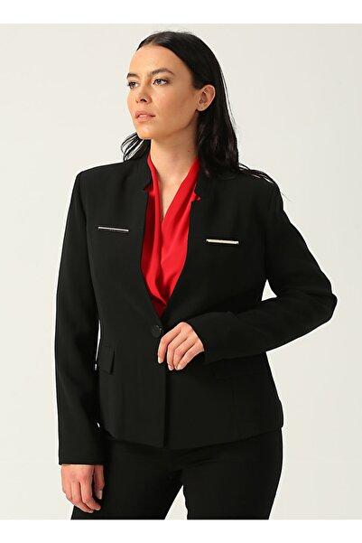Ekol 06023.1 Siyah Kadın Ceket