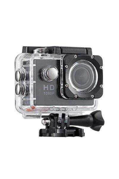 """Hd Su Geçirmez Aksiyon Kamera 1080p 2.0"""" Lcd Su Altı Kamera Enahsen479"""