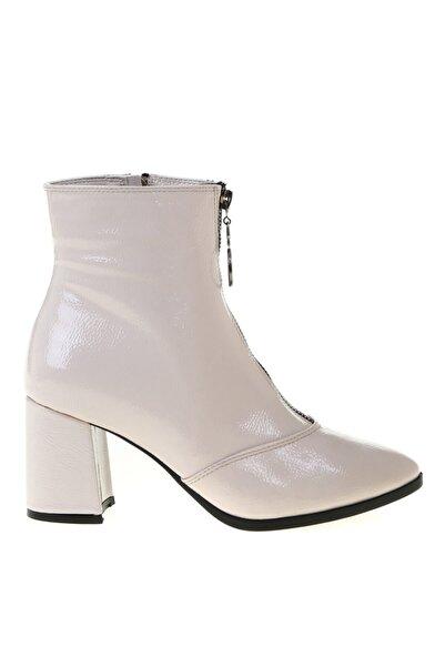 Fabrika Bej Kadın Topuklu Bot