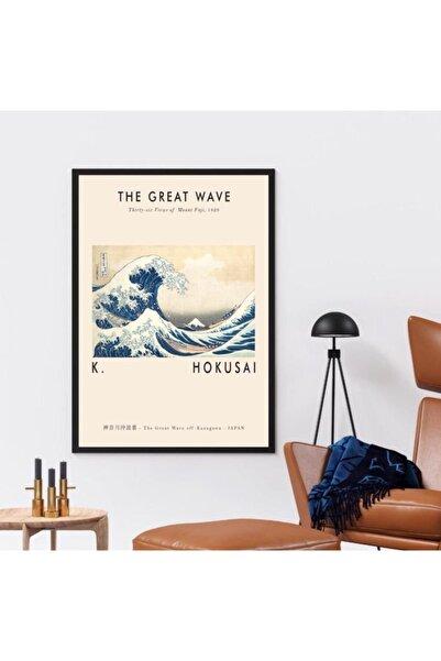 TMCdecoration Thegreatwave Çerçeveli Poster Baskı (50x70cm)