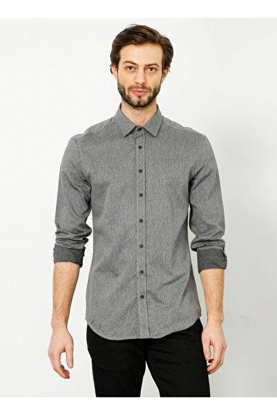 Fabrika Erkek Siyah  Gömlek
