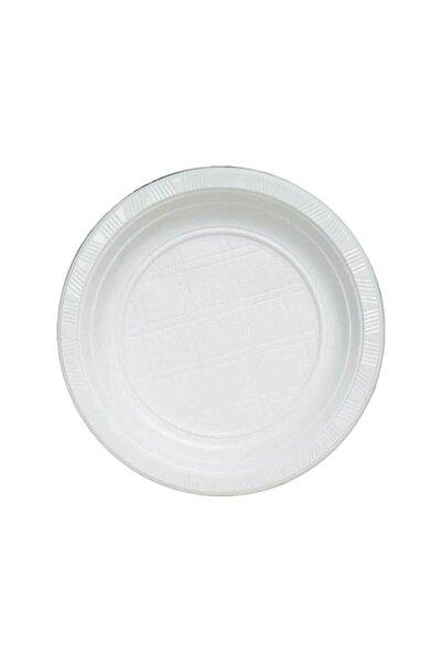 Lüx Plastik Plastik Tabak 100 Adet 19 cm