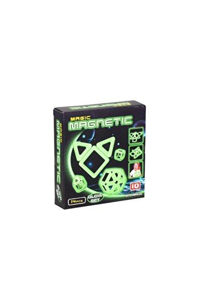 Kızılkaya Oyuncak Sihirli Parlayan Manyetik Set 14 Parça Magnet