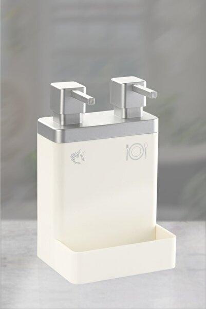 Azra Gümüş Rengi İkili Sabunluk
