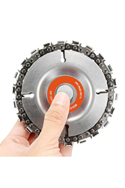 istshop Nipower Zincirli Ahşap Işleme Oyma Zımparalama Disk 115 Mm