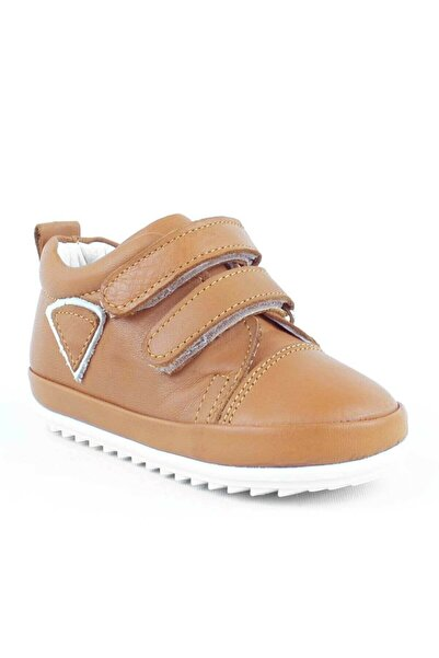 Rıdvan Çelik Taba Yumuşak Hakiki Deri Ilk Adım Bebek Ayakkabısı