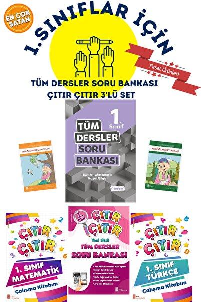 Tudem Yayınları 1.sınıflar Için Tudem Tüm Dersler Soru Bankası + Türkçe Ve Matematik Çalışma Kitabım 5'li Set