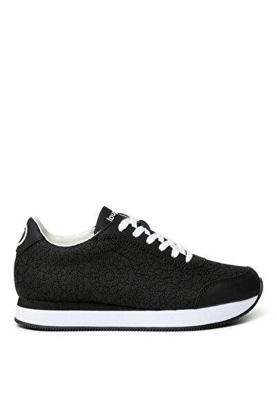 Desigual Galaxy Mandala Negro Kadın Siyah Termoplastik Kauçuk Sneaker