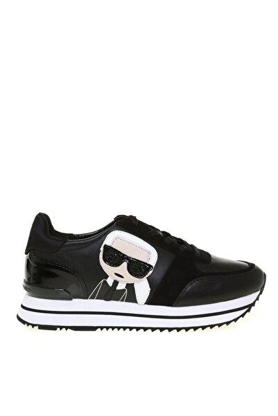 Karl Lagerfeld Kadın Siyah Velocita Iı Karl Ikonic Meteor Sneaker