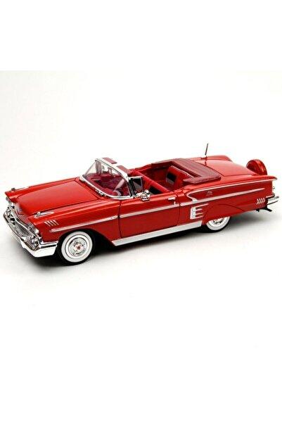 Motor Max Kırmızı 1:24 1958 Chevy Impala Araba