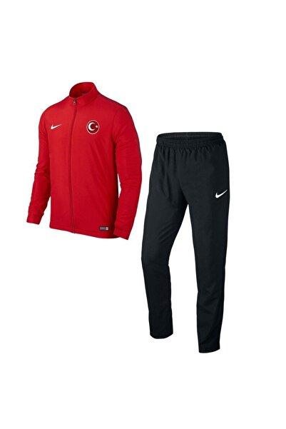 Nike Acdmy16 Milli Takım Baskılı Çocuk Eşofman 808759 Kırmızı