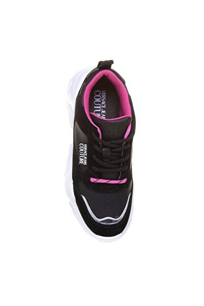 VERSACE JEANS Eva Taban Siyah Kadın Sneaker