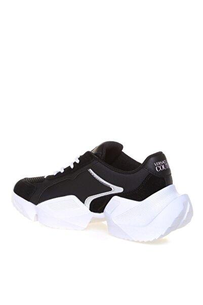 VERSACE JEANS Eva Taban Bağcıklı Siyah Kadın Sneaker