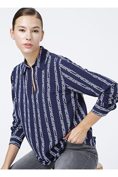 Fabrika Kadın Lacivert Comfort Bluz
