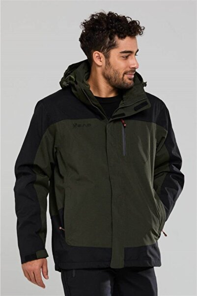 2AS Elbruz 3in1 Ceket Erkek-olive Yeşil
