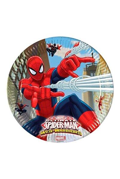 Hepsi Dahice Ultimate Spider-man Orijinal Lisanslı 8 Adet 23 Cm Tabak
