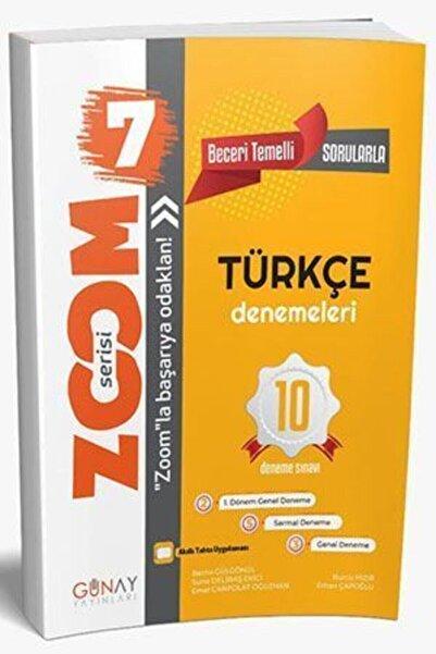 Zoom 7. Sınıf Türkçe 10'lu Branş Denemesi
