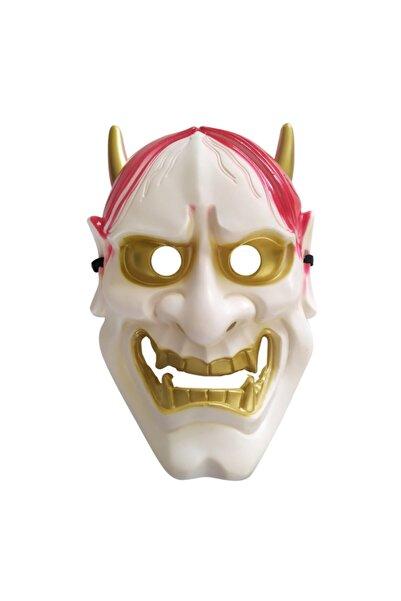Parti Station Şeytan Maskesi Beyaz