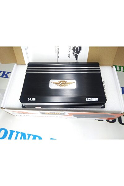 Cadence Z-4.100 4 Kanal D Class Amfi