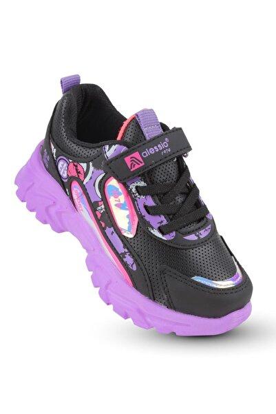 KAPTAN JUNIOR Kız Çocuk Spor Sneaker Yürüyüş Ayakkabı