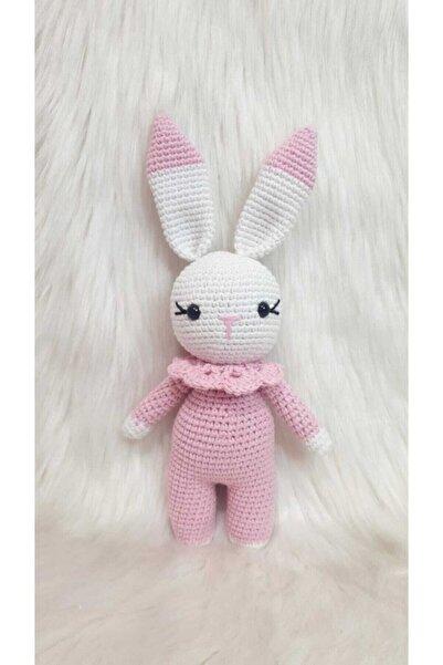 ON MARİFET Amigurumi Örgü Oyuncak Uyku Arkadaşı Tavşan