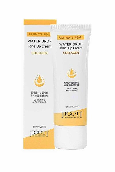 Jigott Kırışıklık Karşıtı Su Bazlı Nemlendirici,aydınlatıcı Kolajen Krem Collagen Water Drop Tone Up