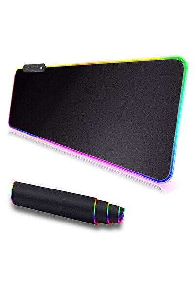 UAT Products Rgb 90x40 Ledli Mousepad Xxl Renkli Işıklı Oyuncu Mouse Pad