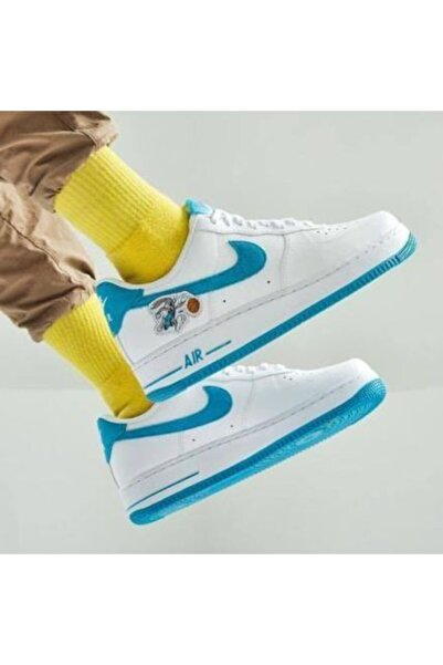 Nike Air Force 1 '07 X Erkek Beyaz Spor Ayakkabı