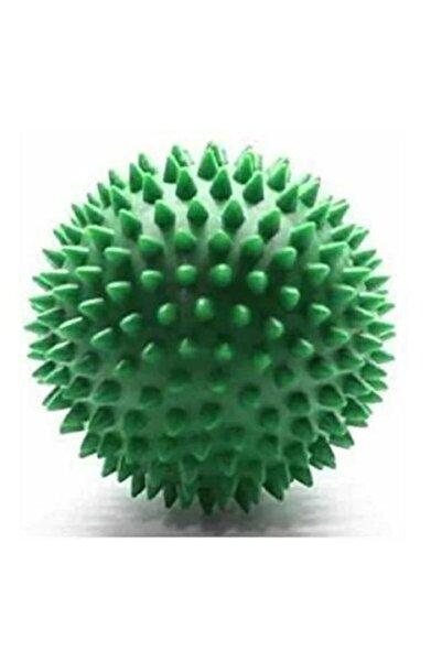 Türkmedical Duyu Uyarıcı Dikenli Masaj Topu Egzersiz Topu Sert 6 Cm -yeşil